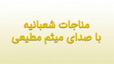 Photo of مناجات شعبانیه با صدای میثم مطیعی + دانلود صوت