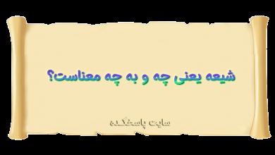 Photo of شیعه یعنی چه؟ شیعه به چه معناست؟