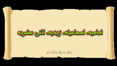 Photo of امامیه، اسماعیلیه، زیدیه، اثنی عشری یا شیعه دوازده امامی